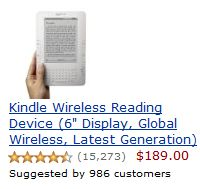 Kindle 2 at Amazon