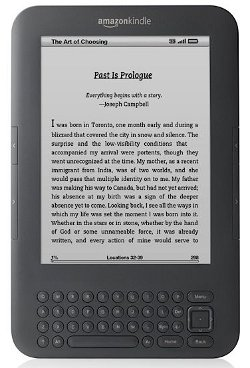 Kindle Graphite and White