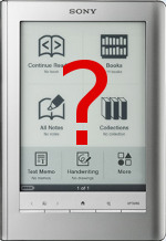 New Sony Reader?