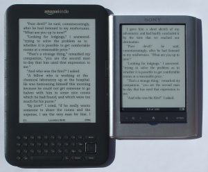Kindle 3 vs Sony PRS-350