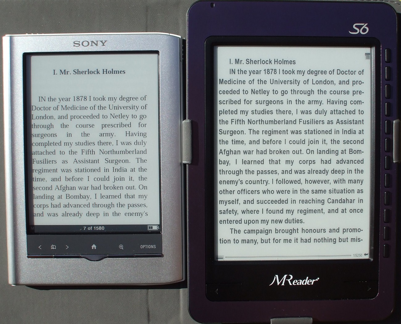 Kindle Vs Sony Reader: Pearl Vs Vizplex: Are The New High Contrast Pearl Screens