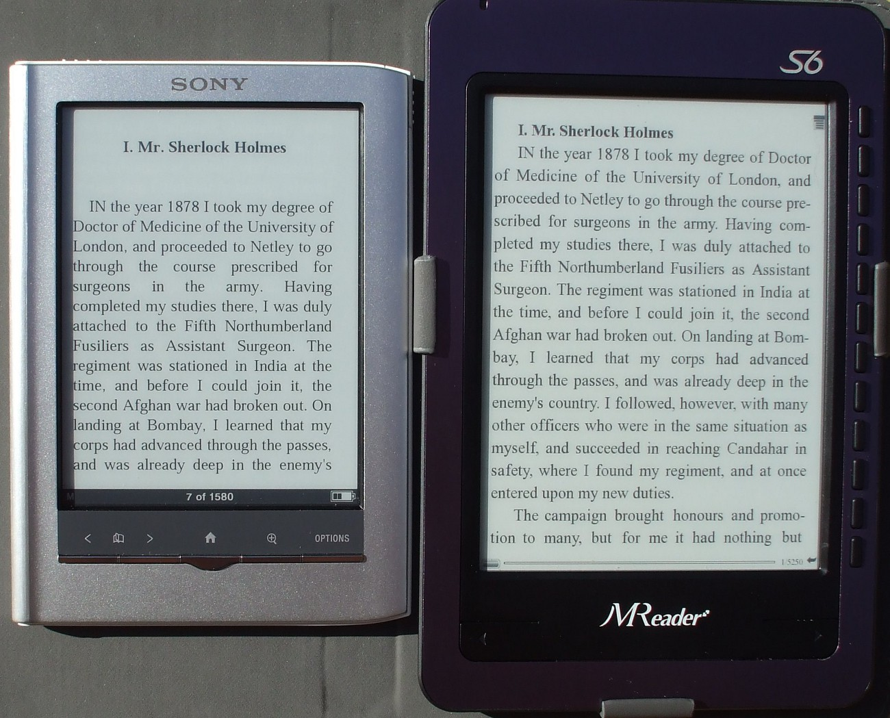 Pearl Vs Vizplex Are The New High Contrast Pearl Screens Overrated The Ebook Reader Blog