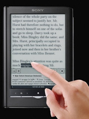 sony prs 650 and 350 shortcuts tips and tricks the ebook reader blog rh blog the ebook reader com Sony eReader Cards Sony eReader Cards
