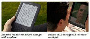 E Ink vs LCD