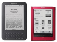 Kindle 3 vs PRS-650