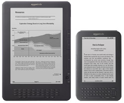 Kindle DX vs Kindle 3