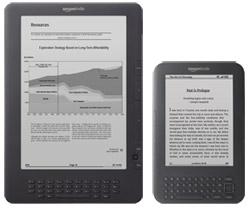 Kindle DX vs Kindle 3
