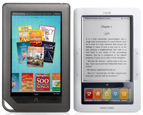 Nook Color Revealed: Images, Specs, and Release Date | The eBook ...