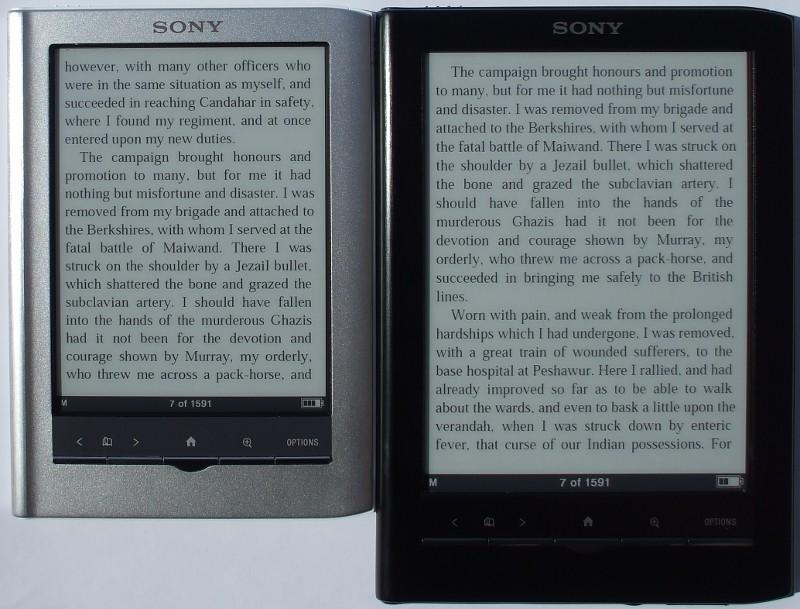 Sony PRS 350 vs PRS 650
