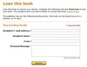 Kindle eBook Lending