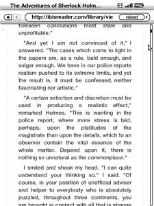 Kindle 3 Ibis Reader