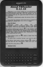 Kindle FBReader