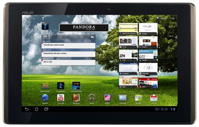 ASUS Transformer Android 3.1 Update