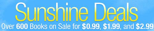 Kindle Sunshine Deals
