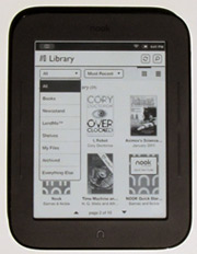 New Nook Touch Review