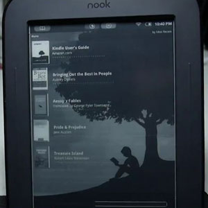 Nook Touch Kindle