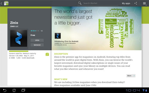 Zinio Android App Released – Get 24 Free Magazines | The