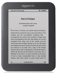 Kindle Touch Mock-up