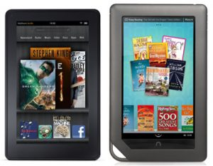 Kindle Fire vs Nook Color