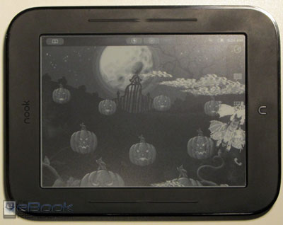 Nook Touch Halloween Wallpaper