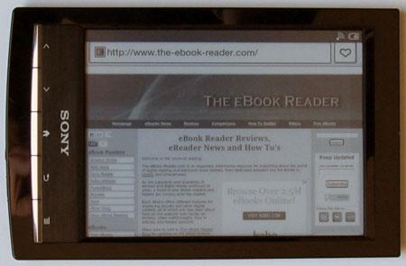 Reader WiFi Browser Landscape