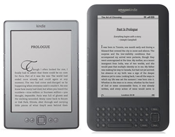 Kindle 4 vs Kindle 3 Keyboard
