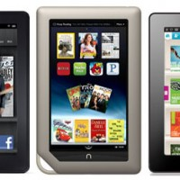 Nook Tablet vs Kindle Fire vs Kobo Vox