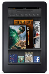 Kindle Fire Home