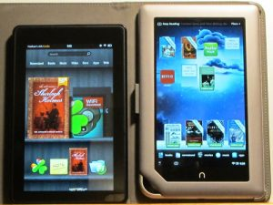 Kindle Fire vs Nook Tablet