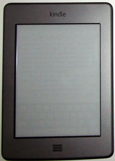 Kindle Touch Ghost