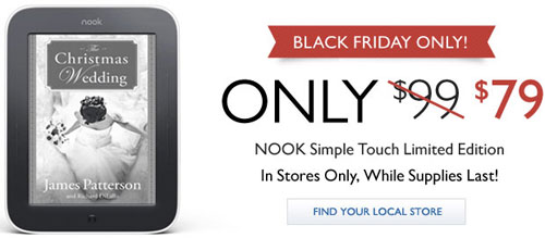 Nook Black Friday