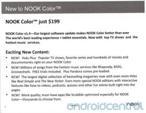 $199 Nook Color