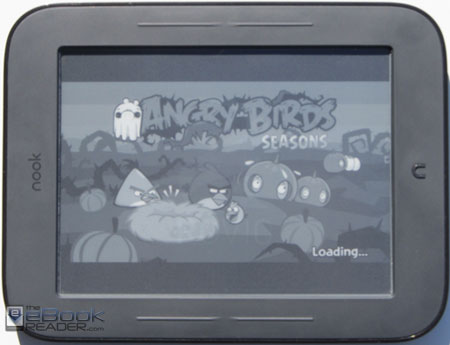 Nook Touch Angry Birds