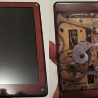 Kindle Fire Steampunk Skin