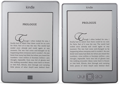Kindle Touch vs Kindle 4