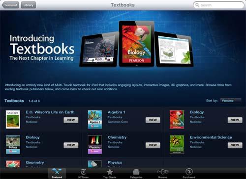 iBooks 2 Textbooks