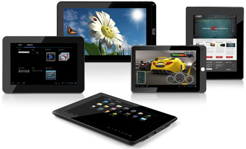 Coby Kyros Android 4.0 Tablets