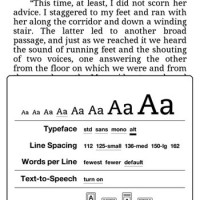 Kindle Custom Fonts