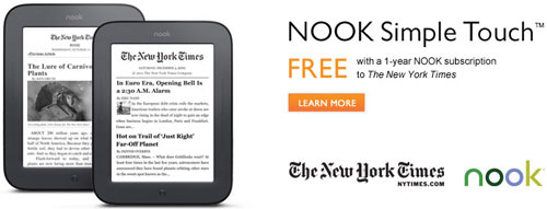 Nook Touch Promo