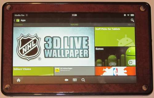 Kindle Fire Rooted with Android Market