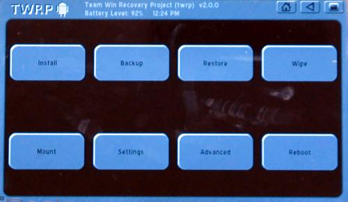 Kindle Fire TWRP Recovery