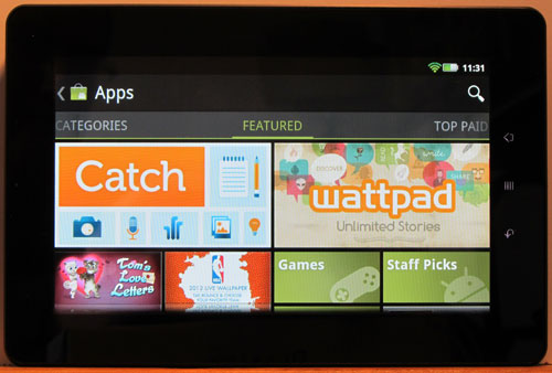 Root Kobo Vox and Install Android Market