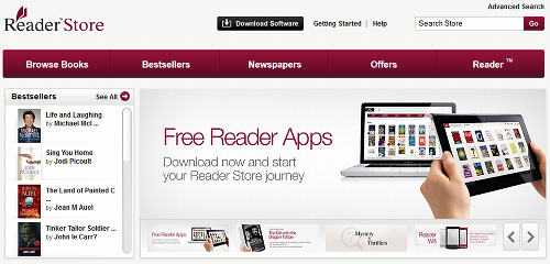 Sony Reader Store UK