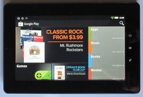 Kobo Vox gets Google Play