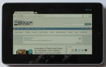 40 Tips And Tricks For Google Nexus 7 Tablet The Ebook Reader Blog