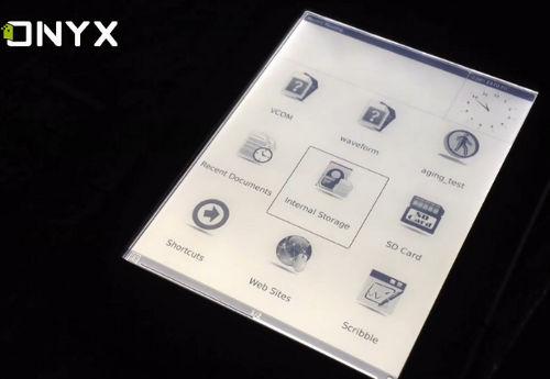 Onyx Boox with Light
