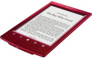 Red Sony Reader PRS-T2