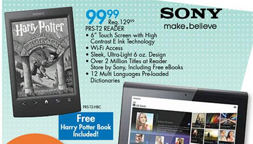 Sony PRS-T2 Sale