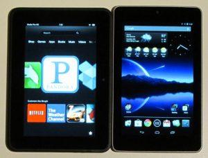 Kindle Fire HD vs Google Nexus 7