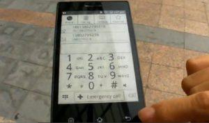 E Ink Phone